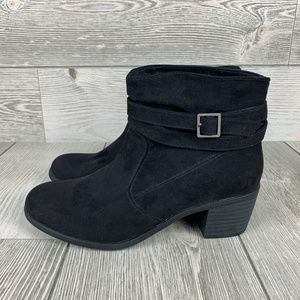 New AMERICAN EAGLE Black Ankle Bootie Size 7.5